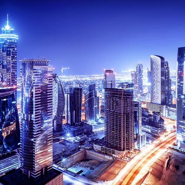 Arabic Modern City
